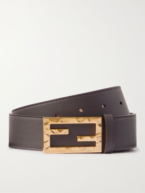 FENDI 3.5cm Leather Belt