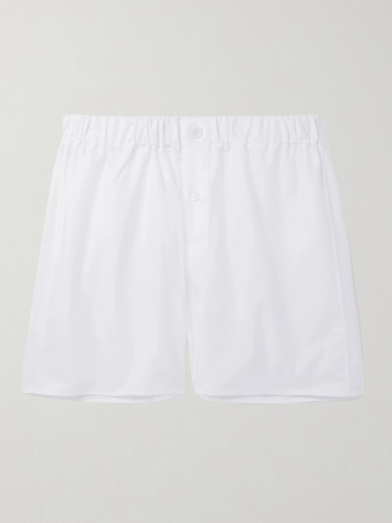 Emma Willis Cotton Oxford Boxer Shorts