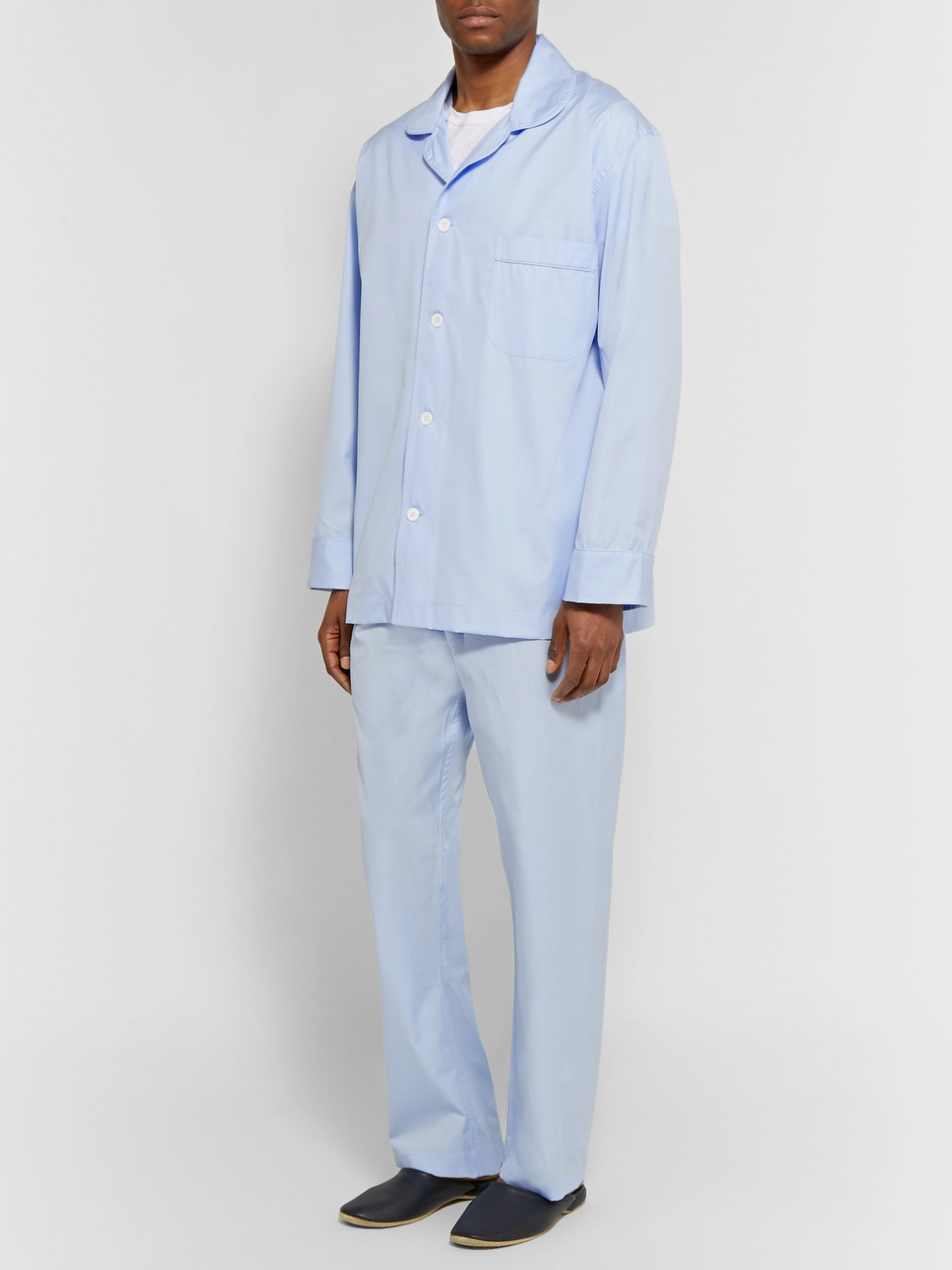 Emma Willis Cotton-Poplin Pyjama Set