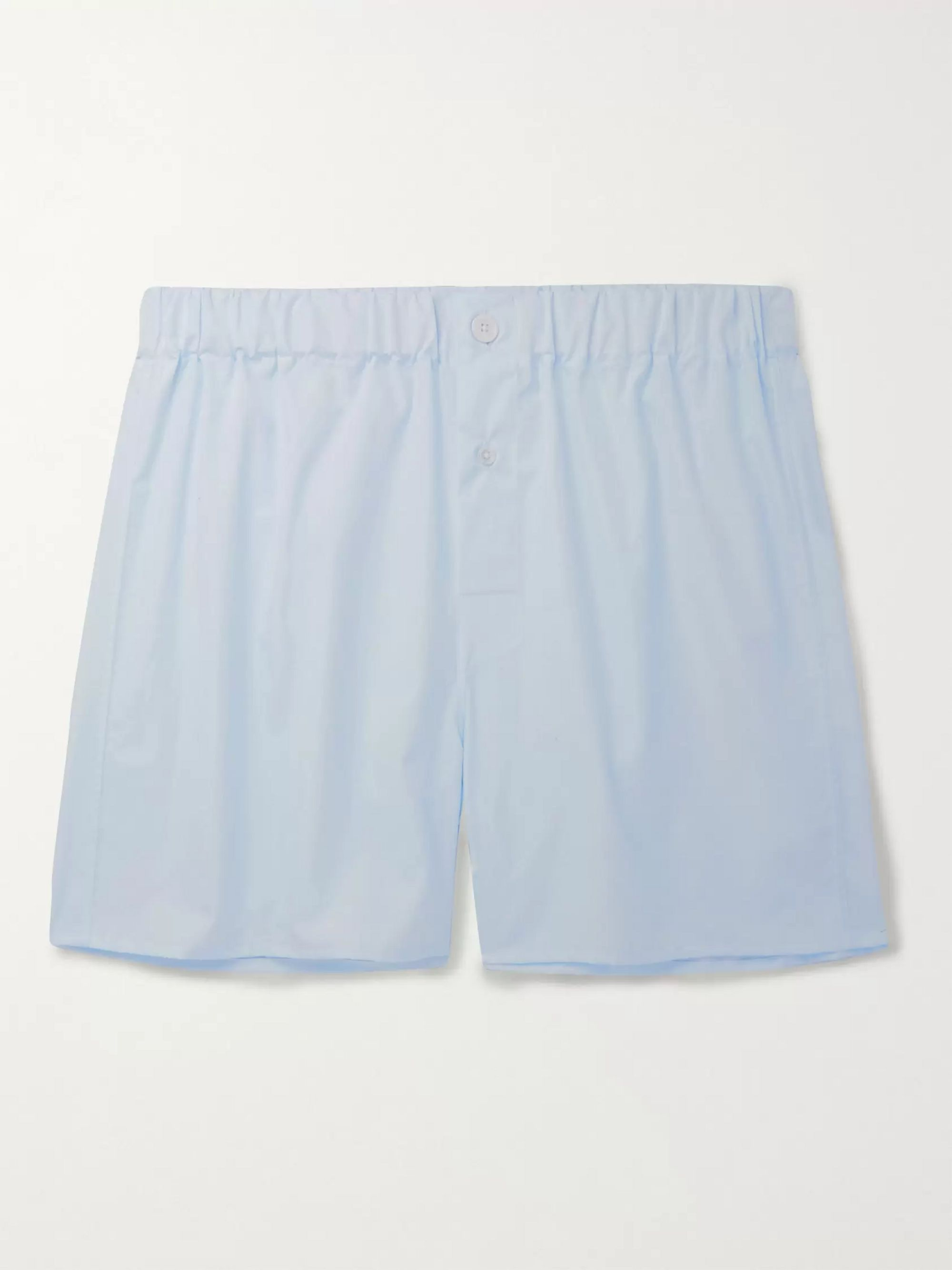 EMMA WILLIS Cotton-Poplin Boxer Shorts