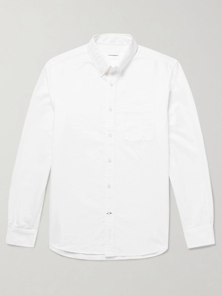 Club Monaco Button-Down Collar Cotton Oxford Shirt