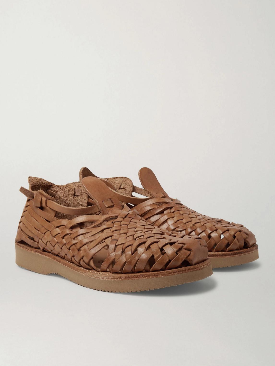 Yuketen Cruz Woven Leather Huarache