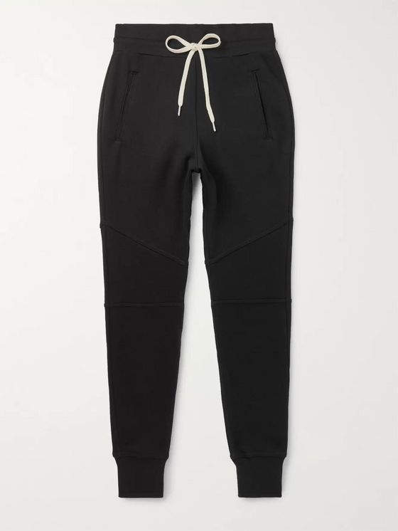 JOHN ELLIOTT Escobar Slim-Fit Loopback Cotton-Blend Jersey Sweatpants