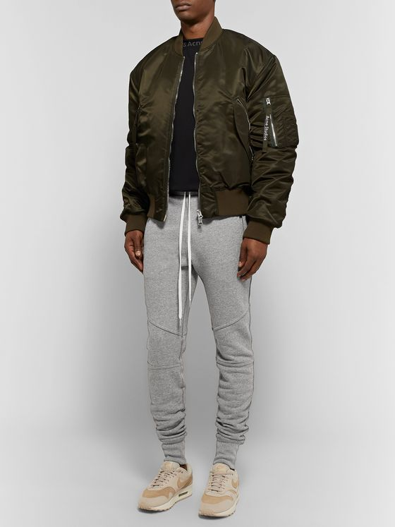 JOHN ELLIOTT Escobar Slim-Fit Tapered Loopback Cotton-Blend Jersey Sweatpants