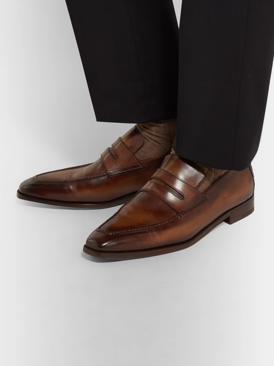 BERLUTI Andy Leather Loafers