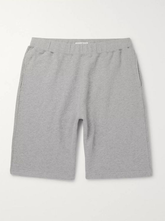 Sunspel Brushed Loopback Cotton-Jersey Shorts