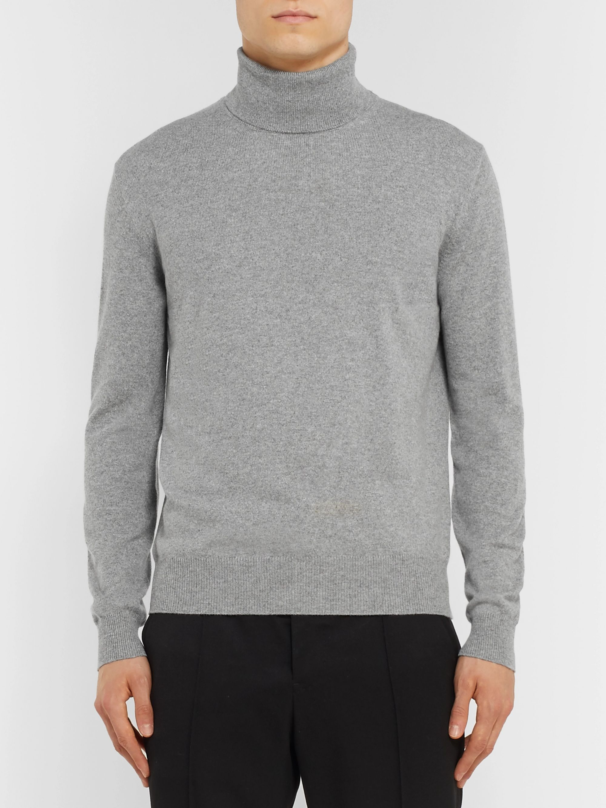 Loro Piana Slim-Fit Baby Cashmere Rollneck Sweater