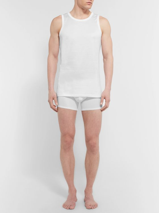 Ermenegildo Zegna Slim-Fit Cotton-Jersey Tank Top