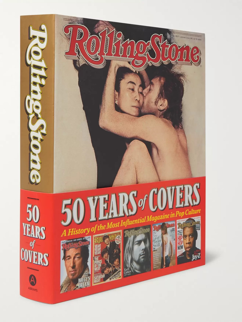 Abrams Rolling Stone 50 Years of Covers Paperback Book
