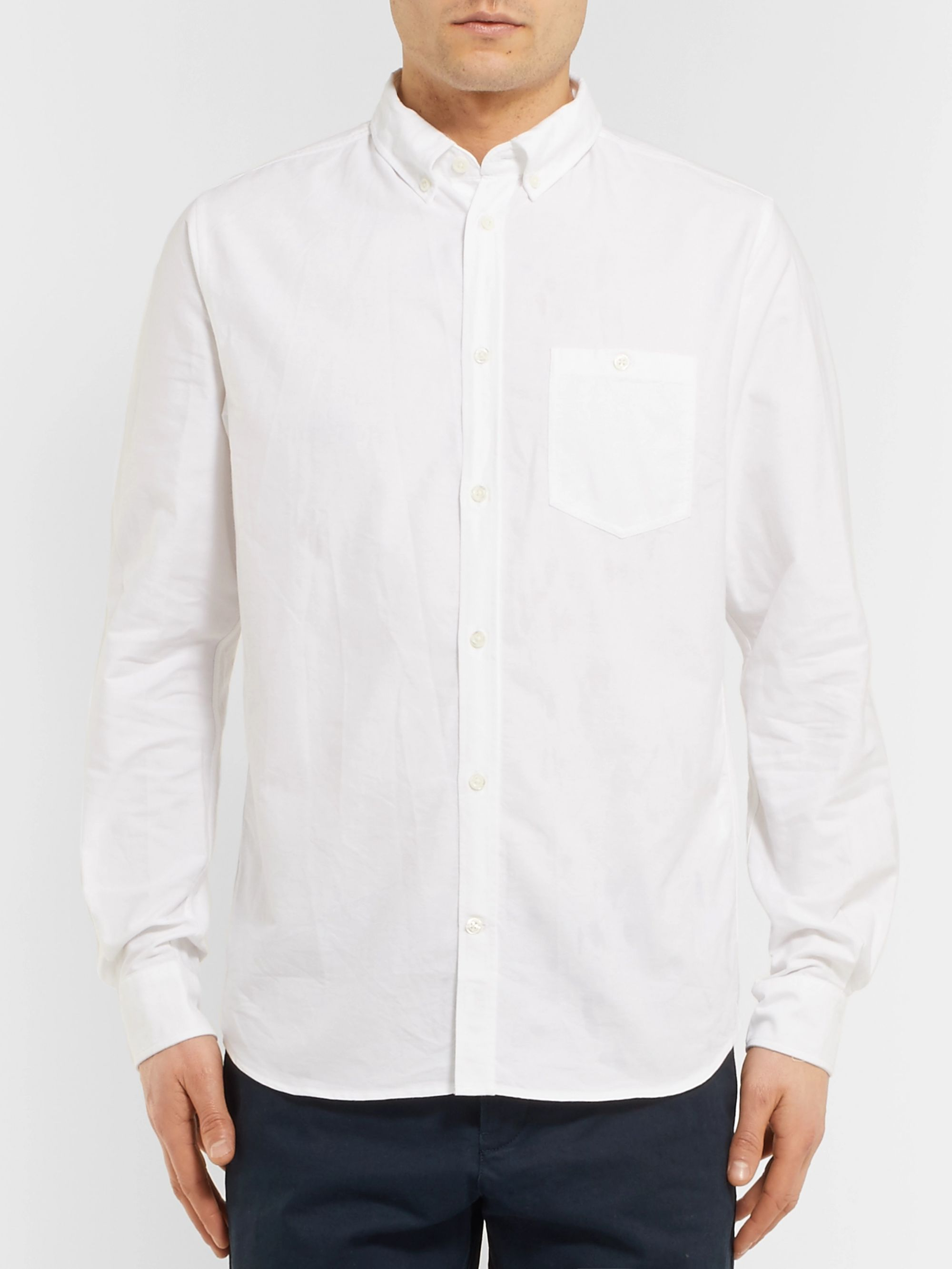 Norse Projects Anton Button-Down Collar Cotton Oxford Shirt