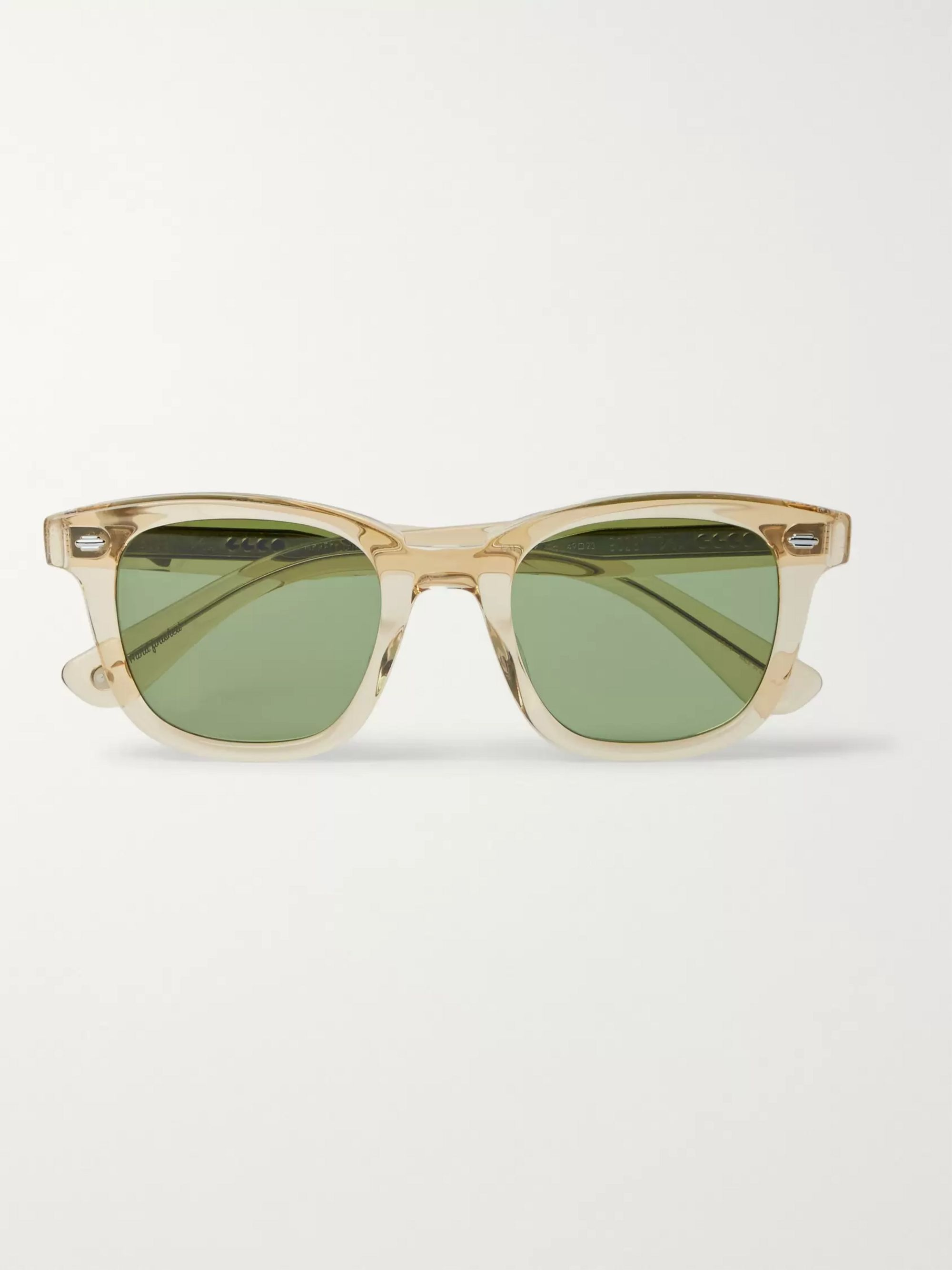 Garrett Leight California Optical Calabar 49 Square-Frame Acetate Sunglasses