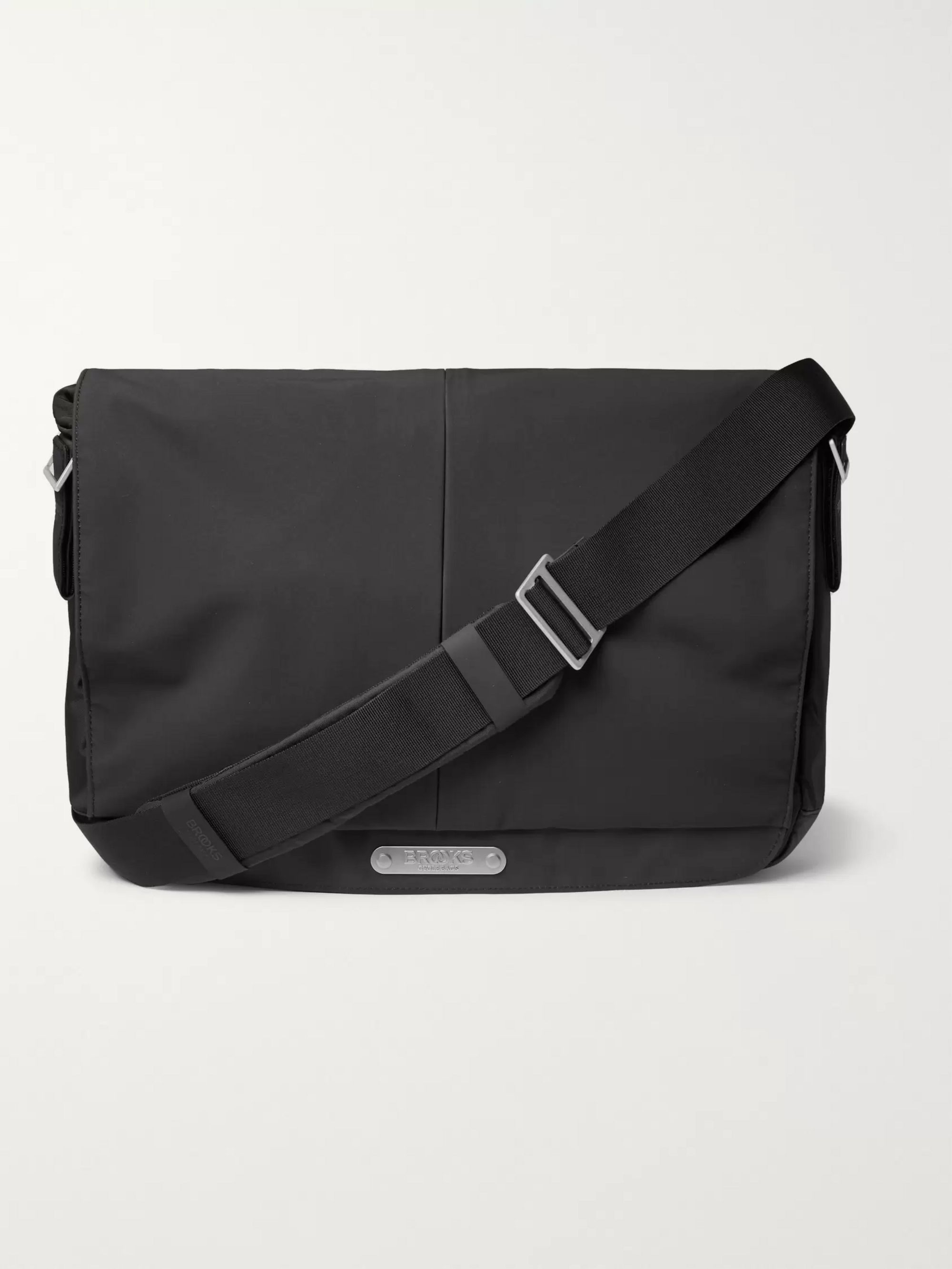 Brooks England Strand Coated-Nylon and CORDURA Messenger Bag