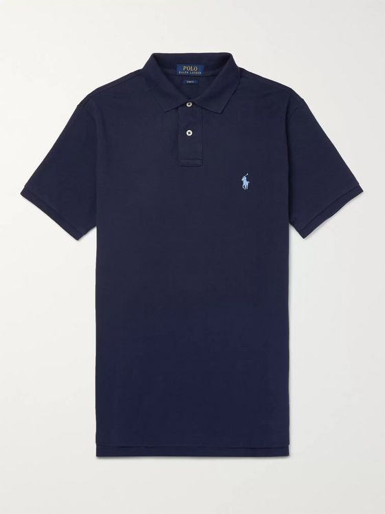 Polo Ralph Lauren Slim-Fit Cotton-Piqué Polo Shirt