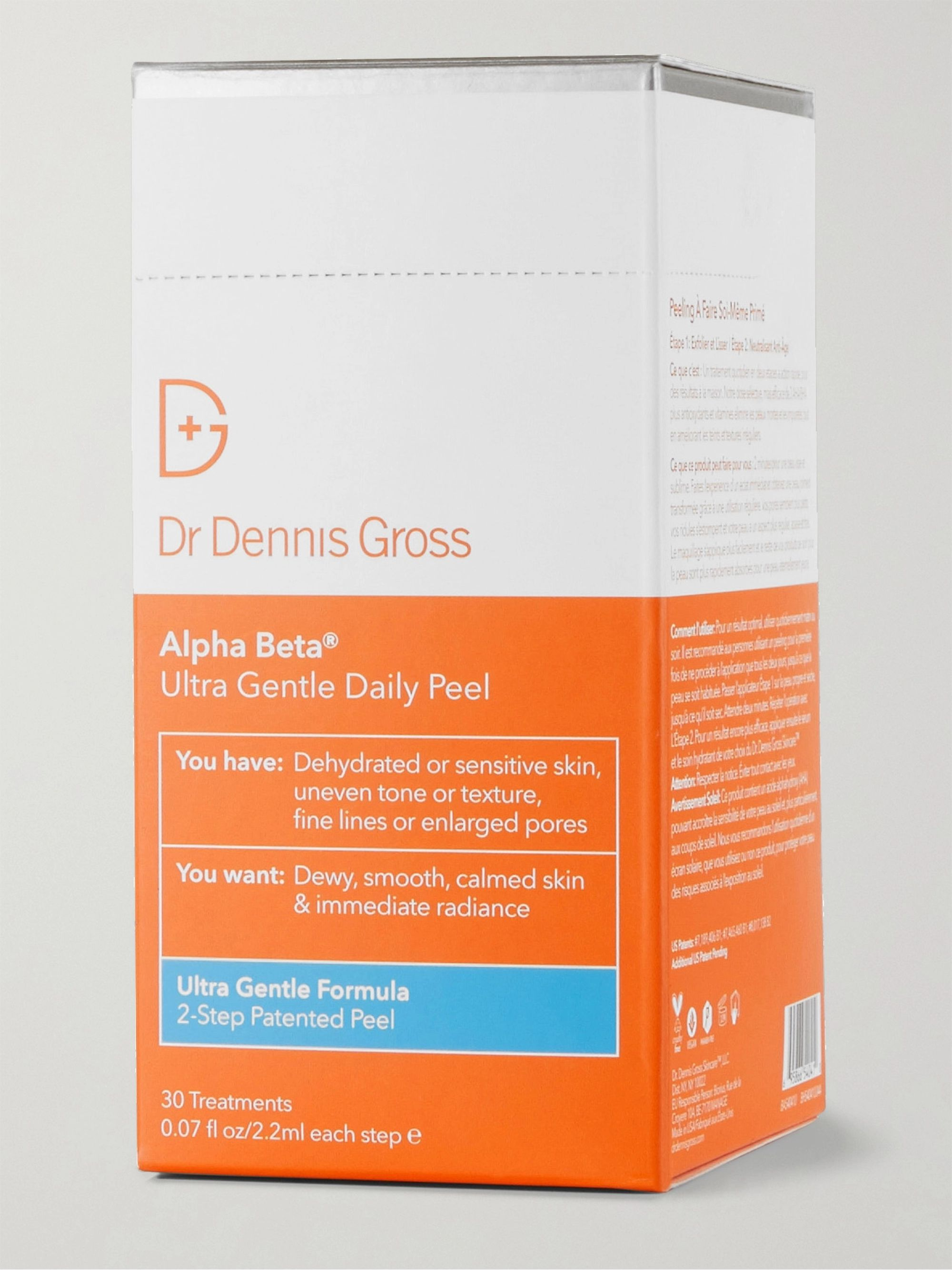Dr. Dennis Gross Skincare Alpha Beta Ultra Gentle Daily Peel, 30 x 2.2ml