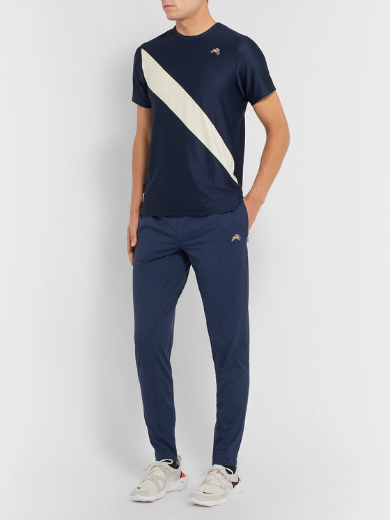 Tracksmith Session Skinny-Fit Stretch-Jersey Sweatpants