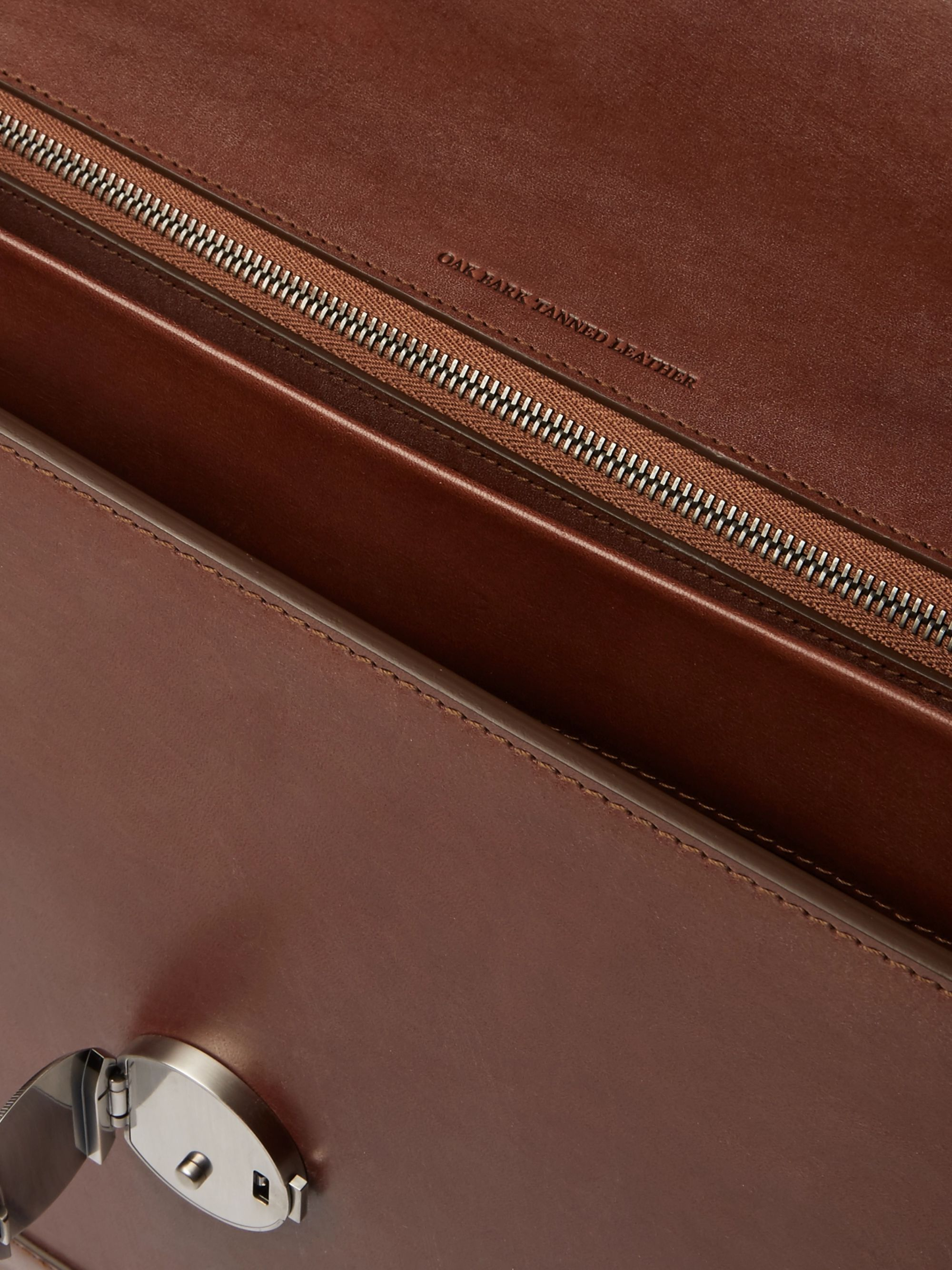 James Purdey & Sons Audley Leather Briefcase