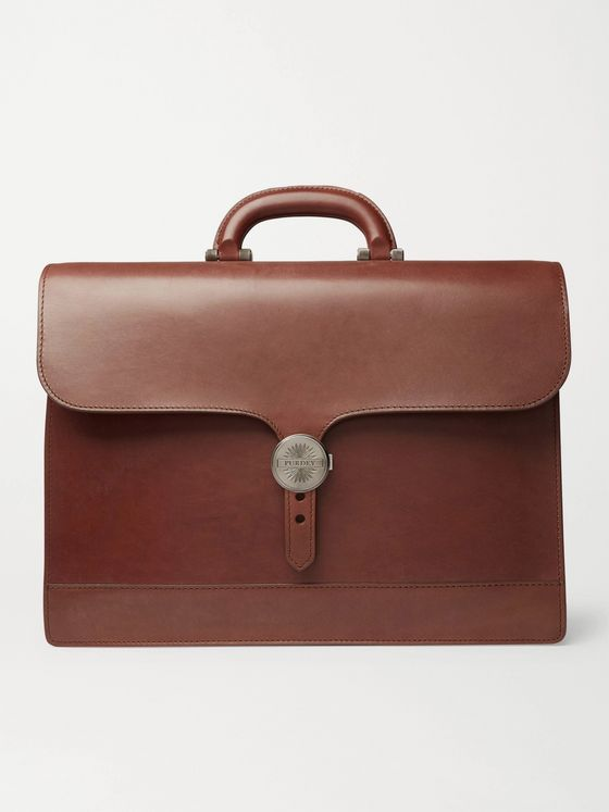 Purdey Audley Leather Briefcase