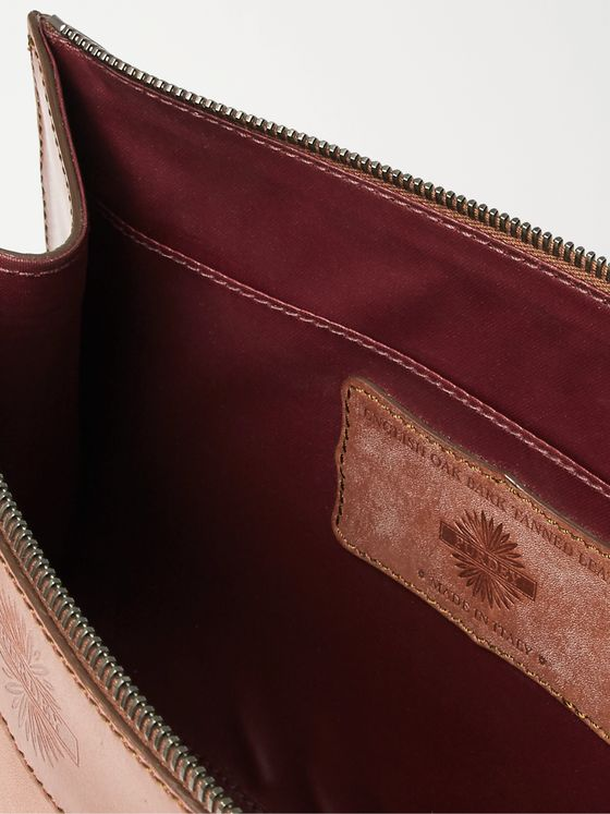 Purdey Leather Wash Bag