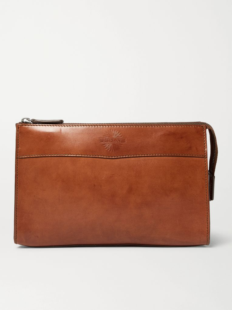 James Purdey & Sons Leather Wash Bag