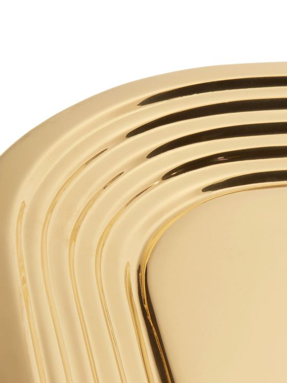 Tom Dixon Form Brass Tray