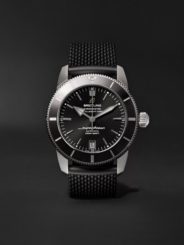 Breitling Superocean Héritage II B20 Automatic 42mm Stainless Steel and Rubber Watch, Ref. No. AB2010121B1S1