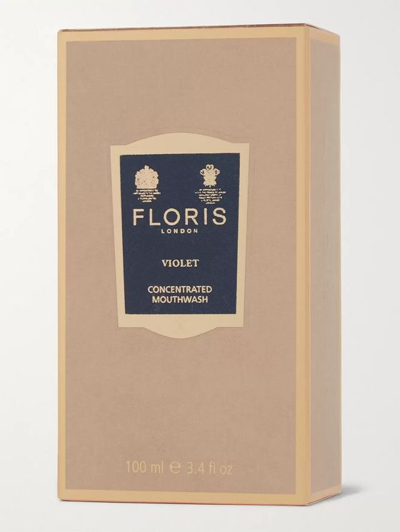 Floris London Violet Concentrated Mouthwash, 100ml