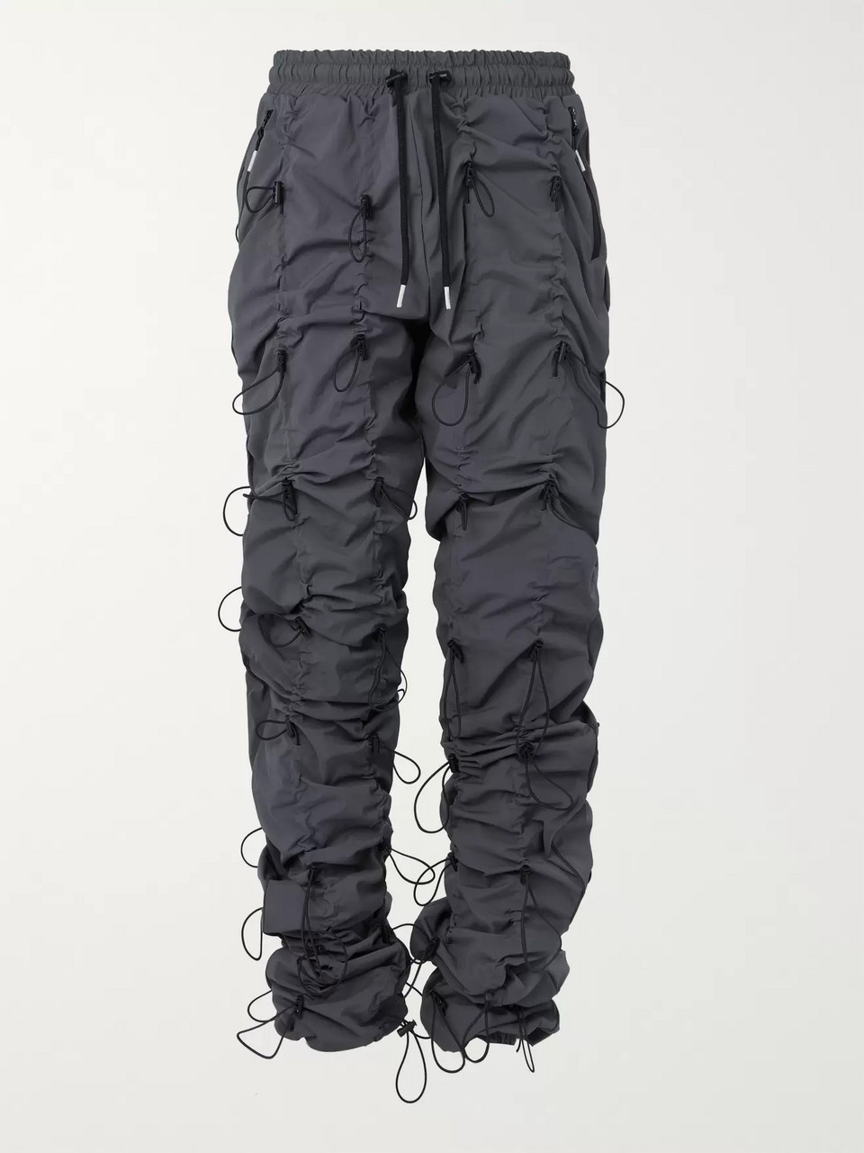 99%IS- Gobchang Stretch-Shell Drawstring Trousers