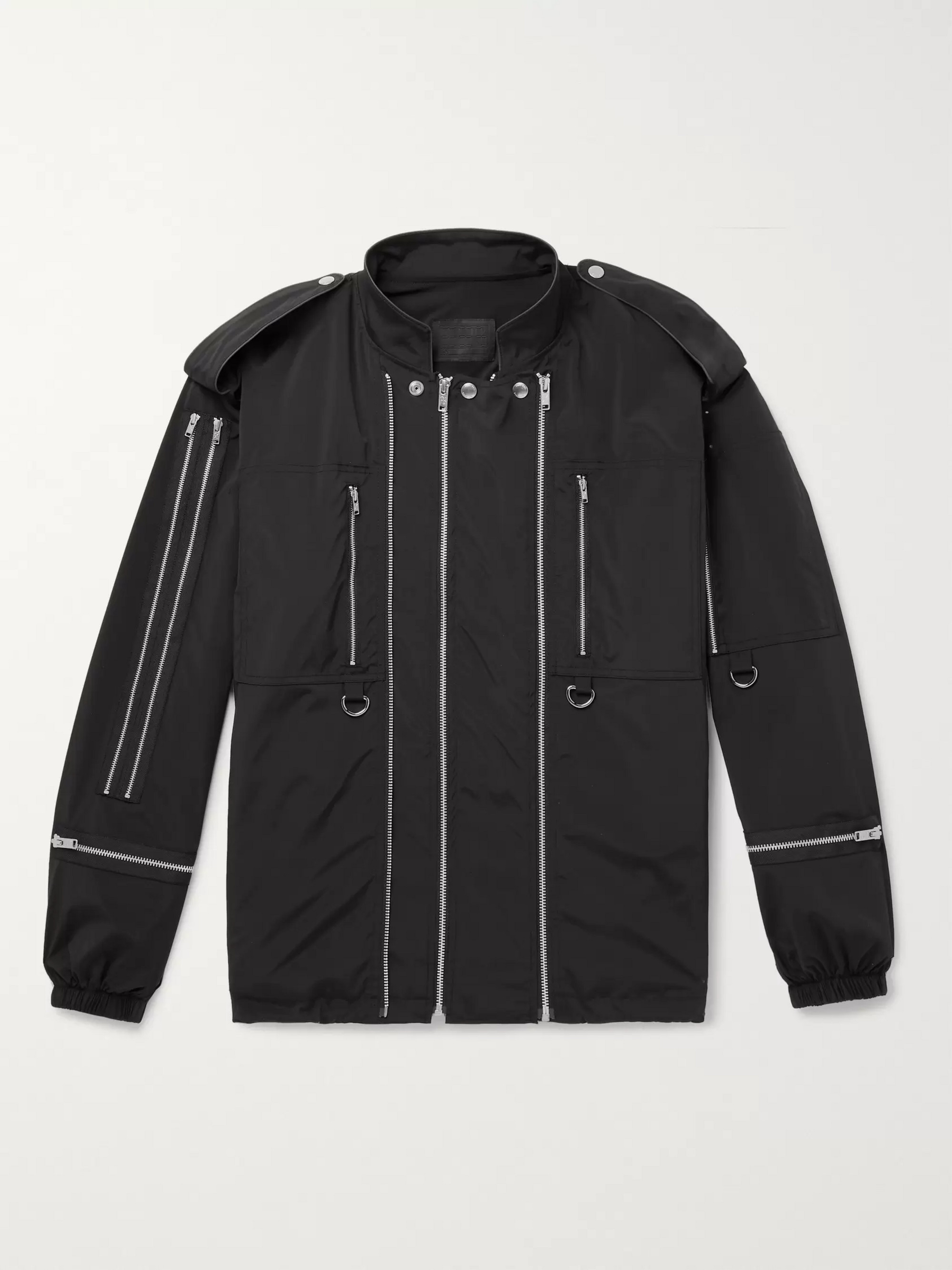 99%IS- Zip-Detailed Tech-Shell Jacket