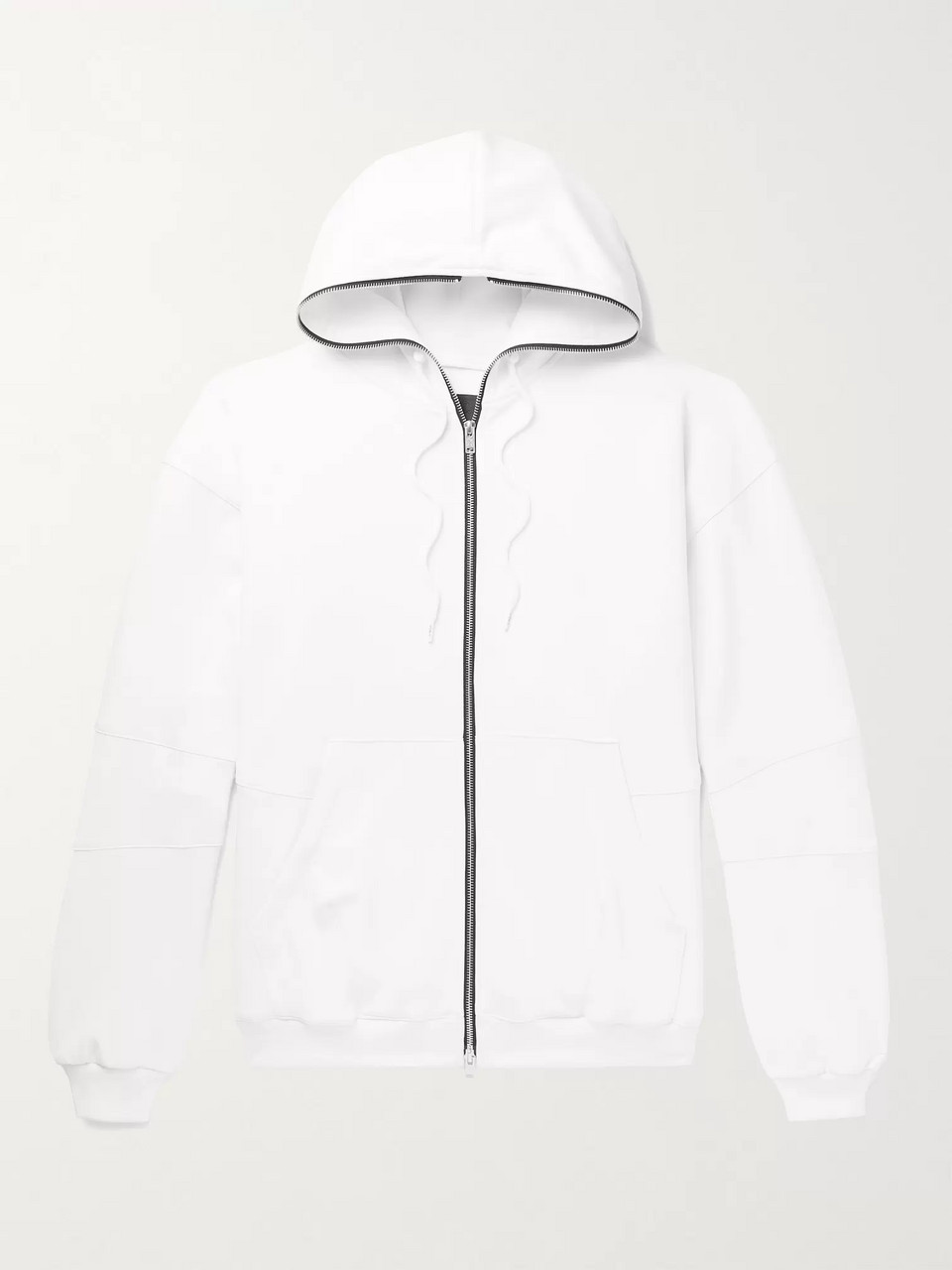 99%IS- Tech-Jersey Zip-Up Hoodie