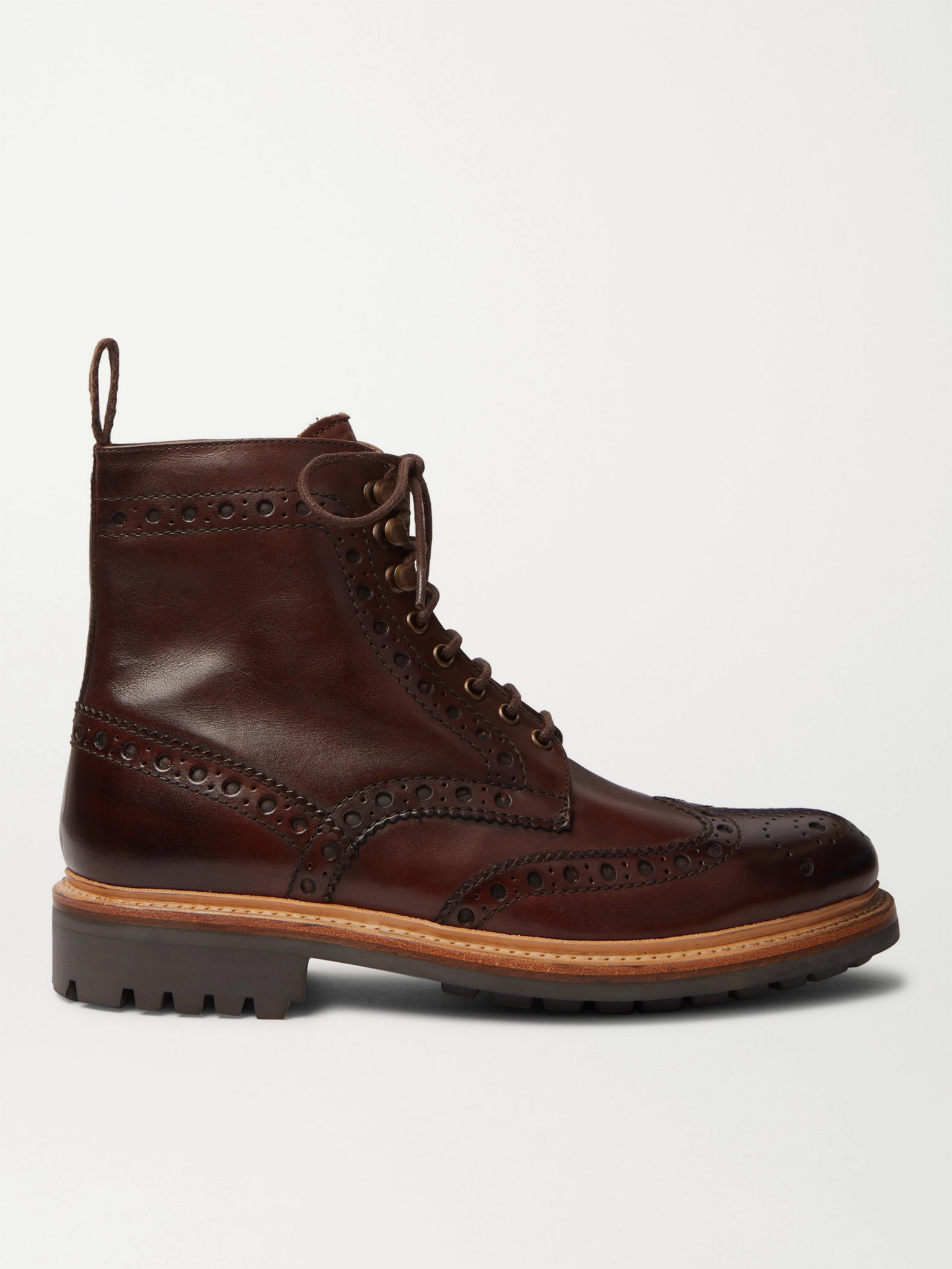 Grenson Fred Brogue Boots