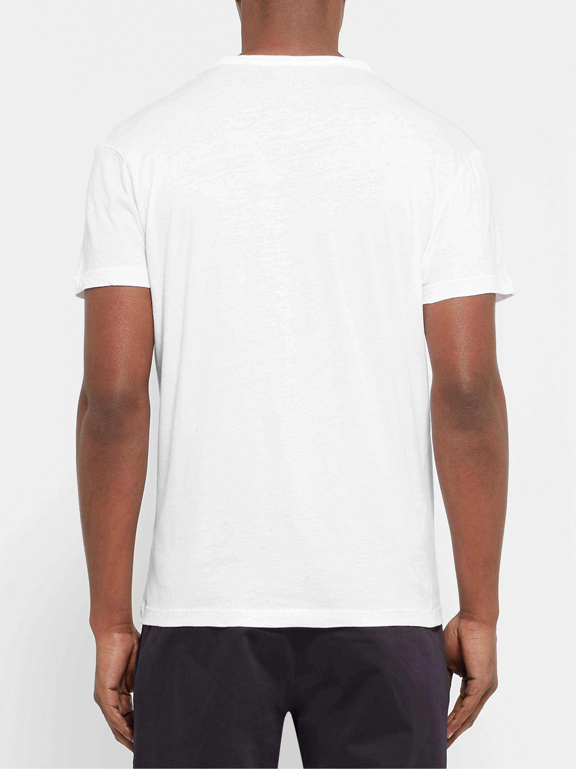 Officine Générale Cotton-Jersey T-Shirt