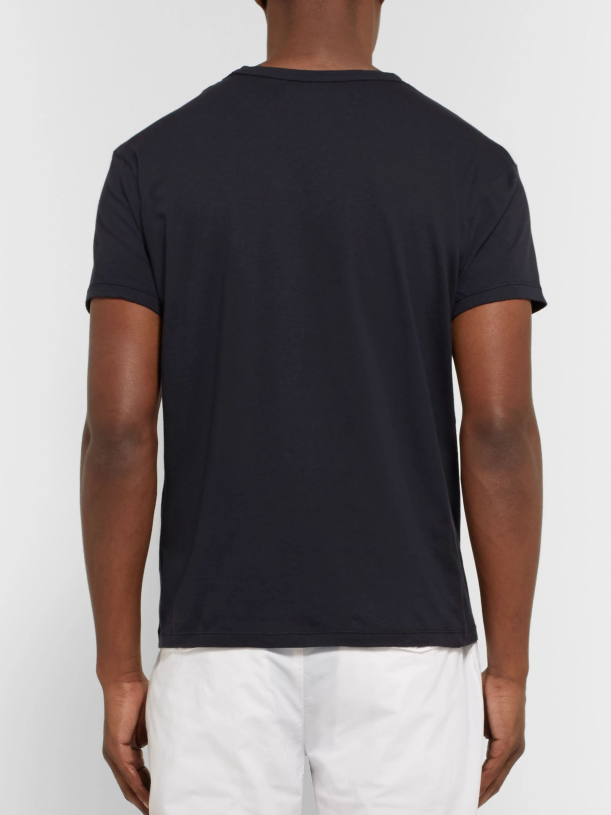 Officine Generale Garment-Dyed Cotton-Jersey T-Shirt