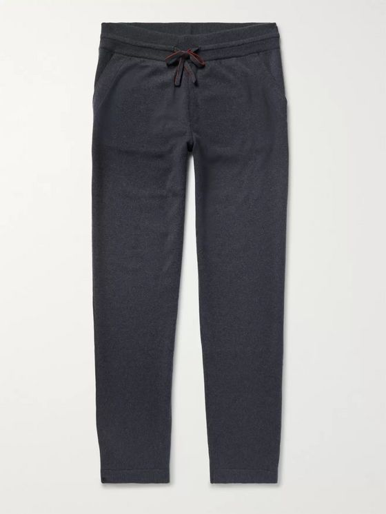 LORO PIANA Slim-Fit Baby Cashmere Sweatpants