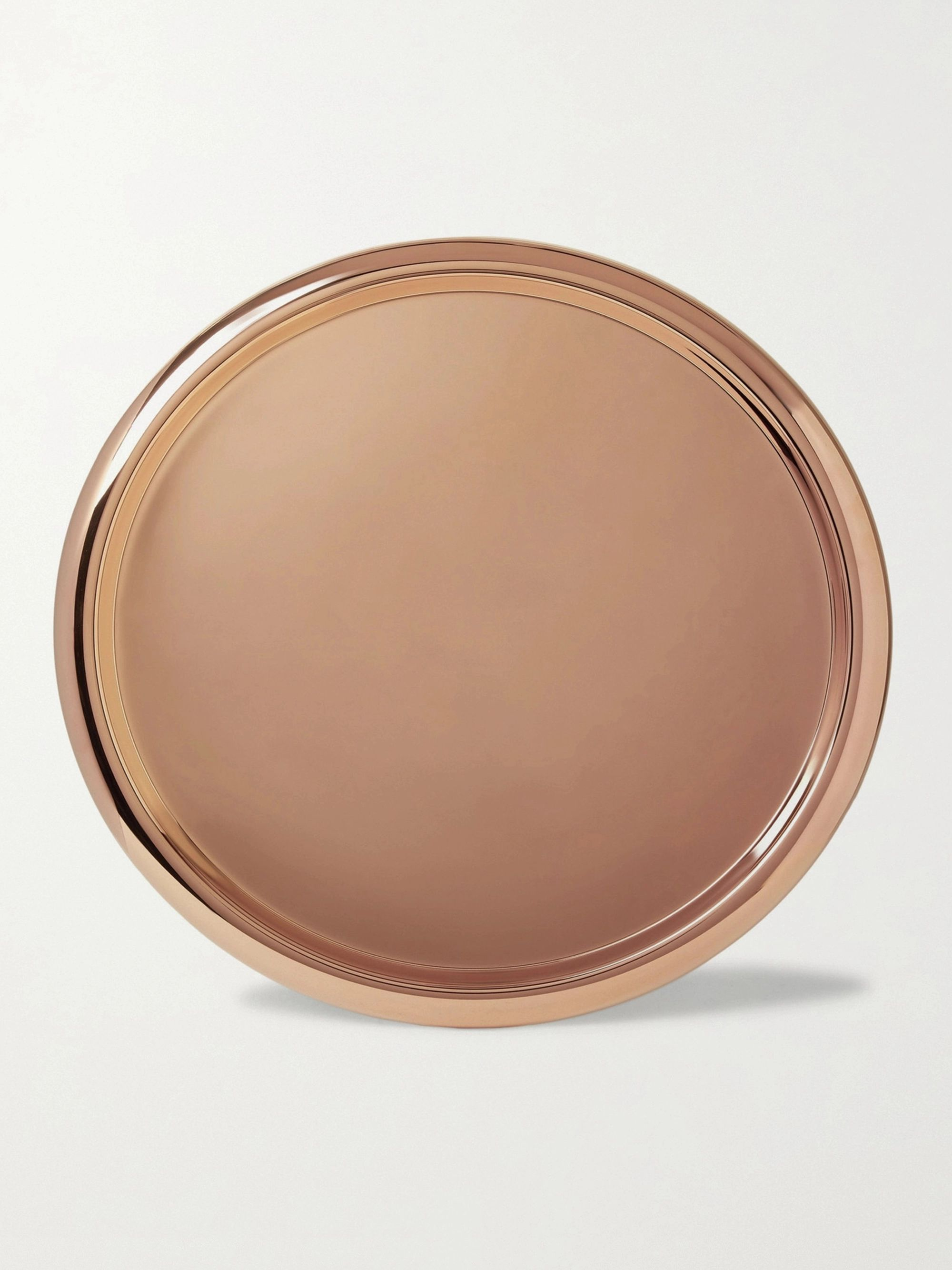 Tom Dixon Brew Copper-Plated Stainless Steel Tray