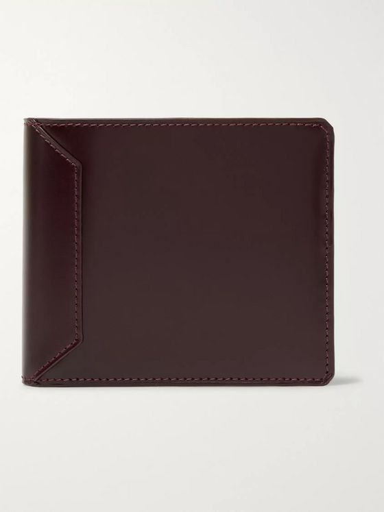 Connolly Polished-Leather Billfold Wallet