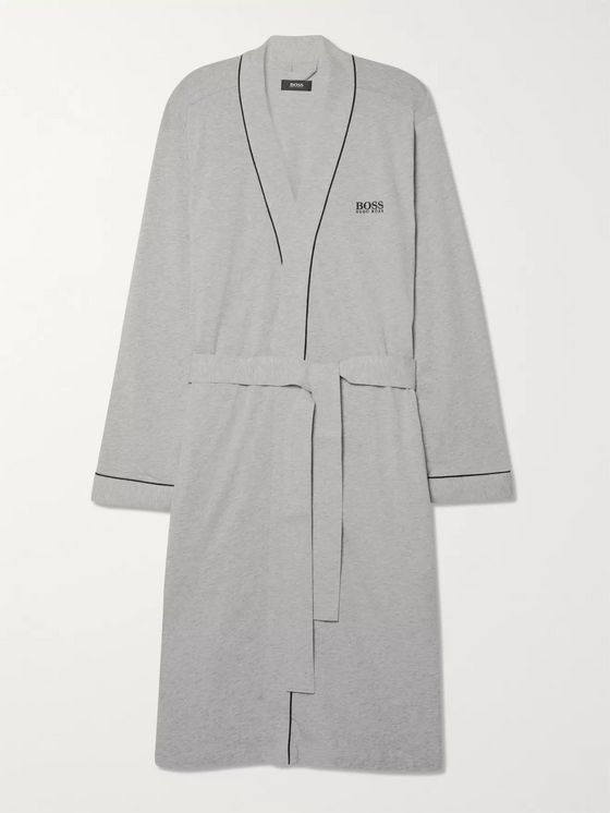 Hugo Boss Cotton-Jersey Robe