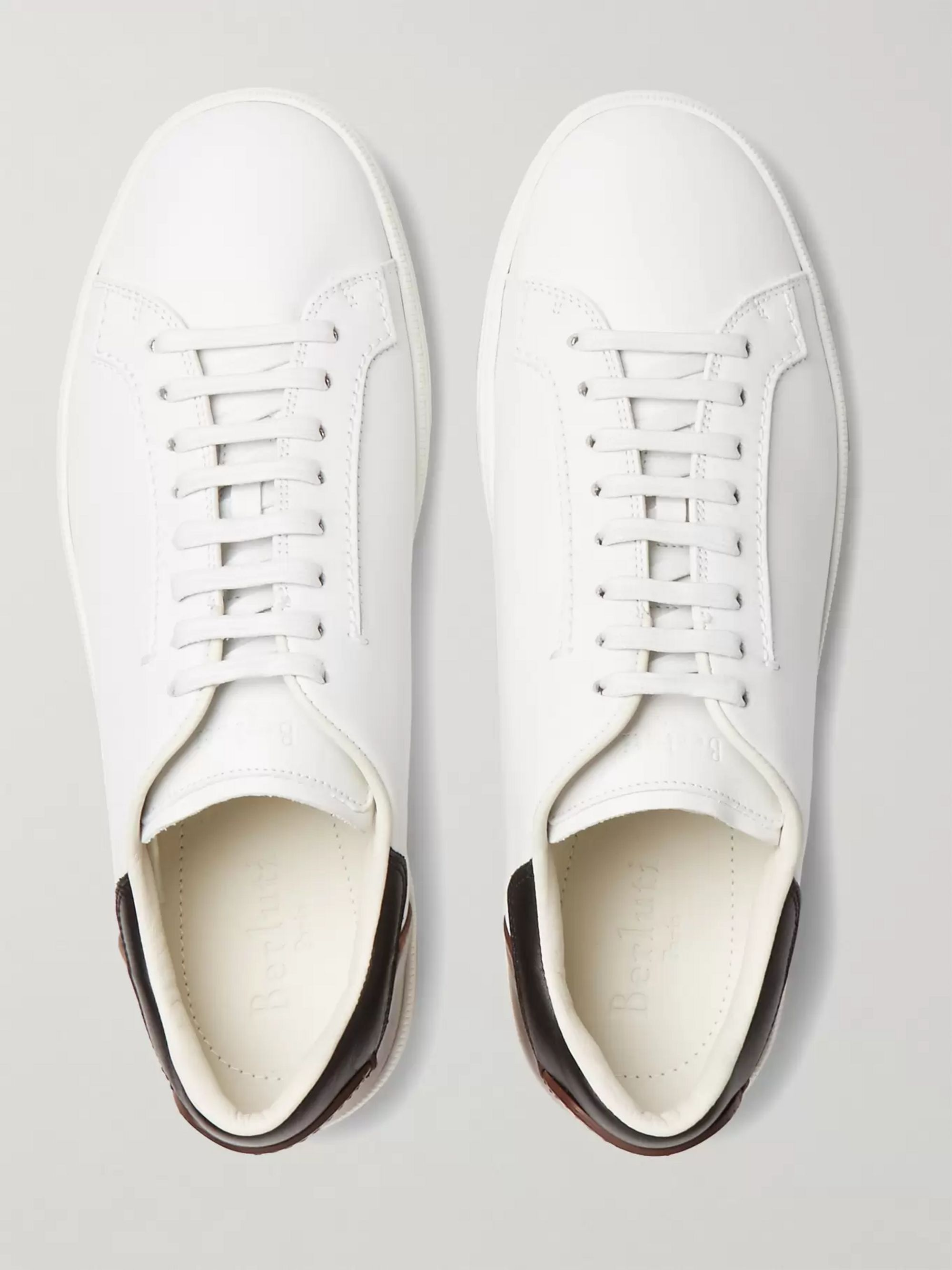 Berluti Outline Leather Sneakers