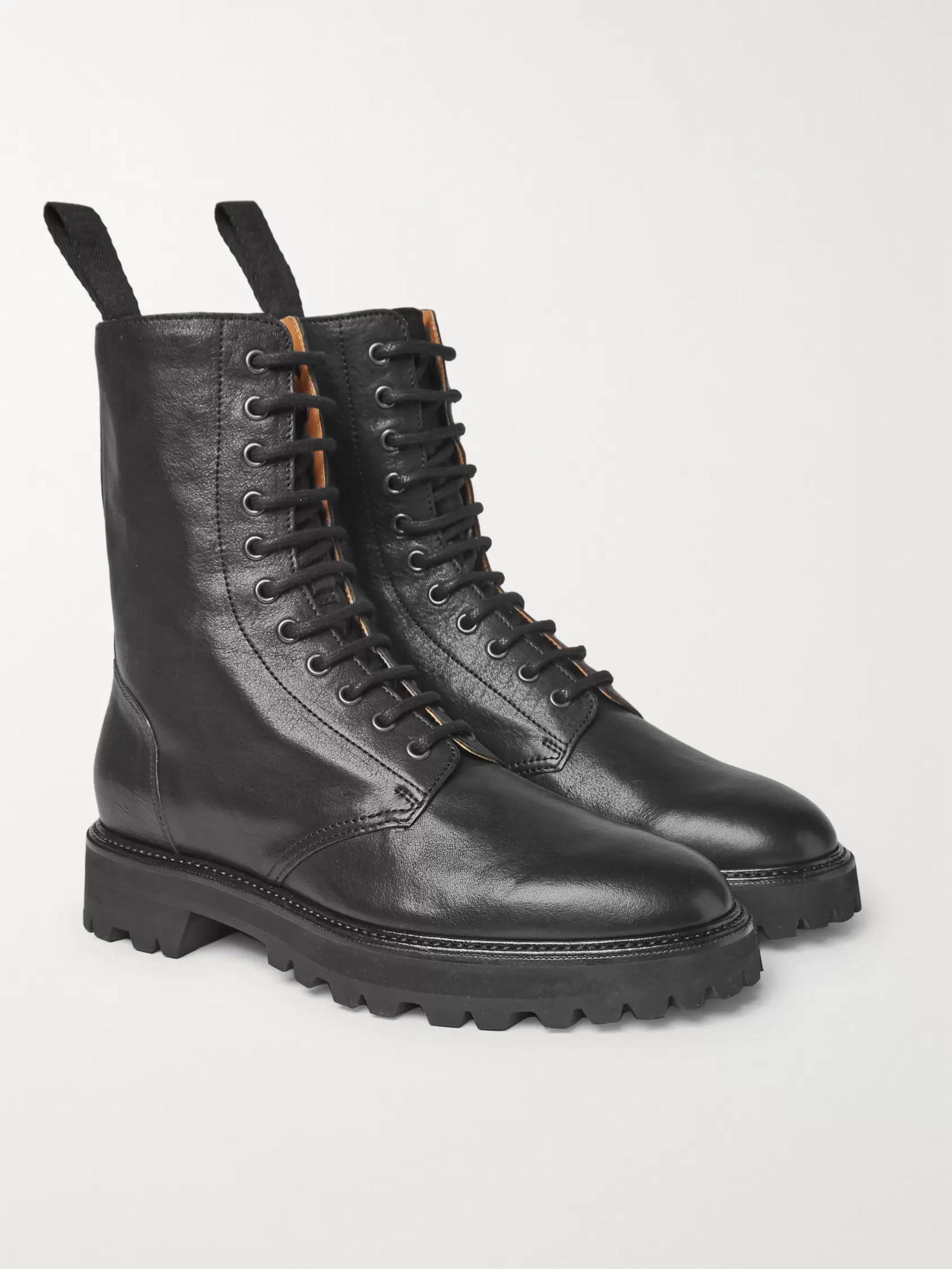 Maison Margiela Combat Boots Men