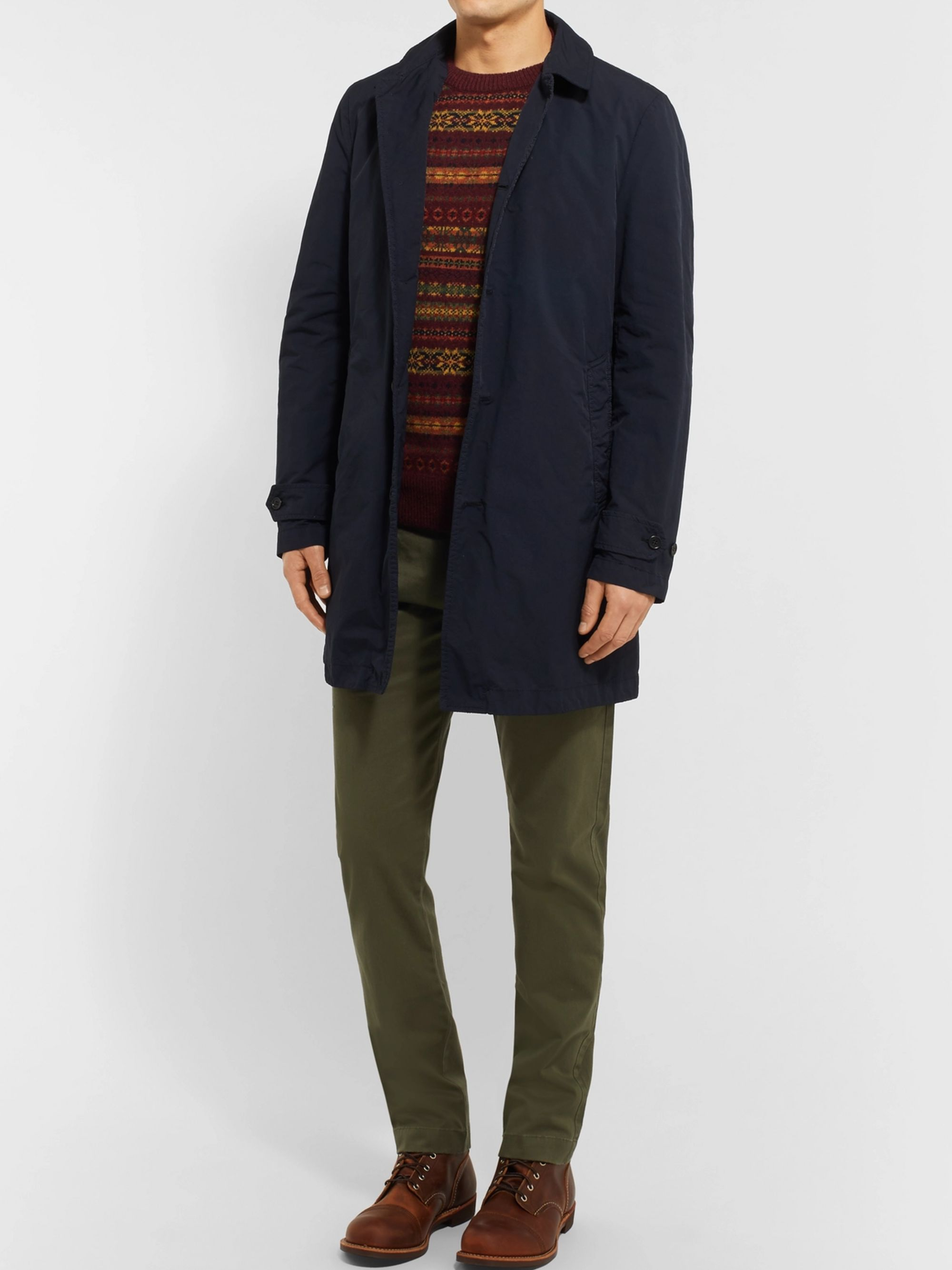 J.Crew Stretch-Cotton Twill Chinos