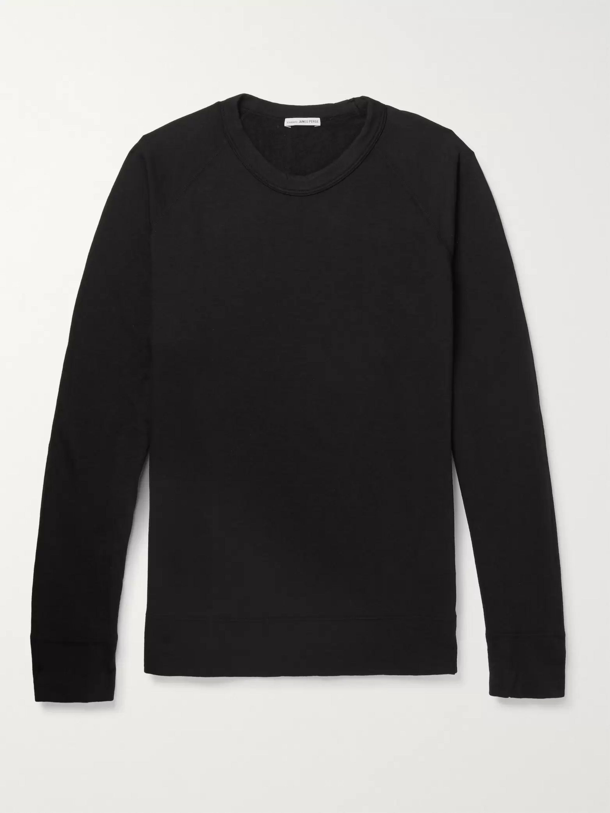 Loopback Supima Cotton Jersey Sweatshirt