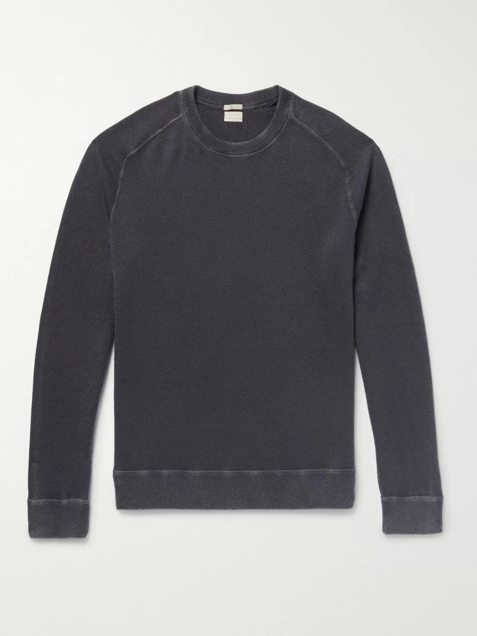 Massimo Alba Garment-Dyed Cashmere Sweater