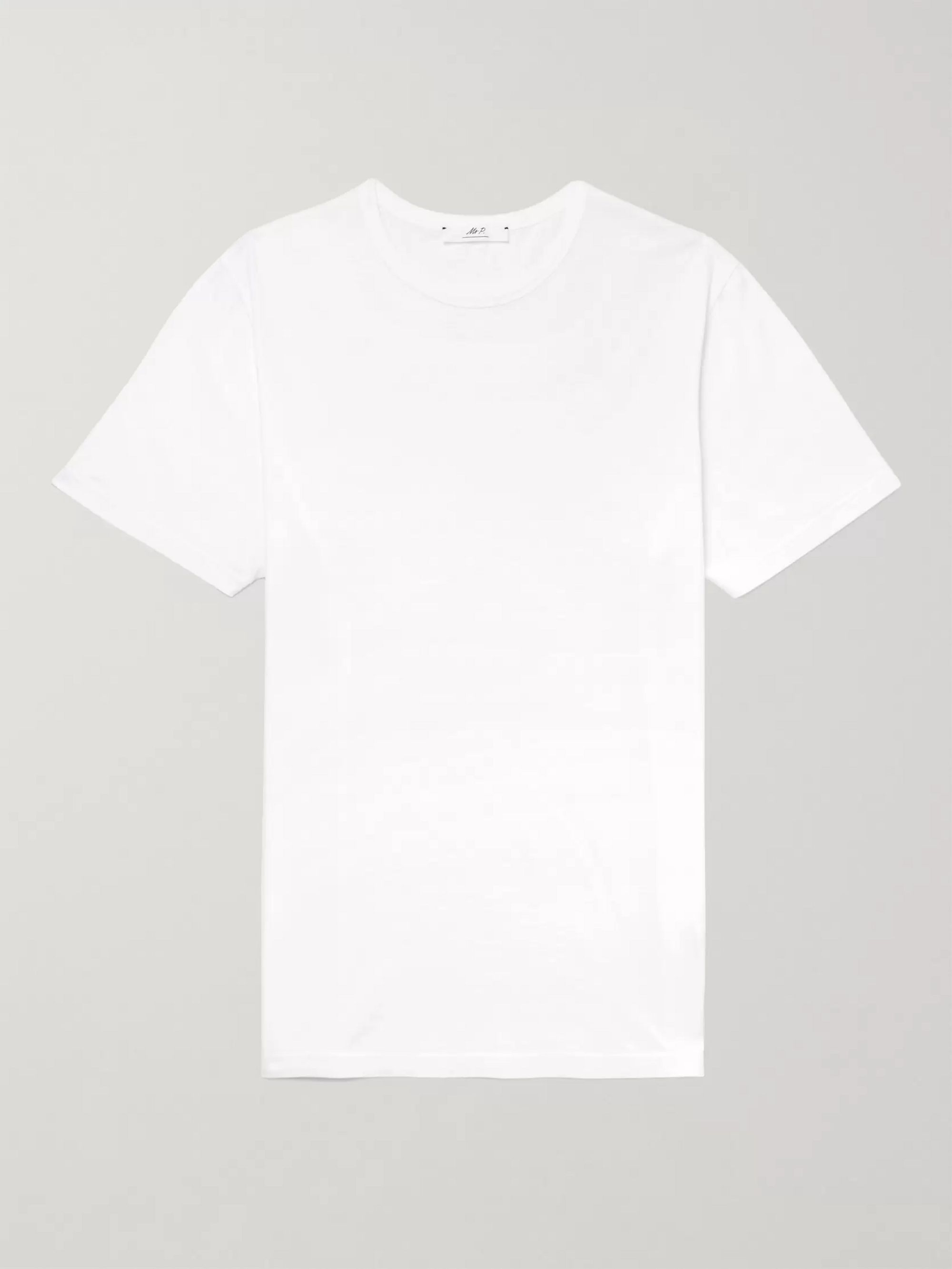 MR P. Mélange Cotton-Jersey T-Shirt