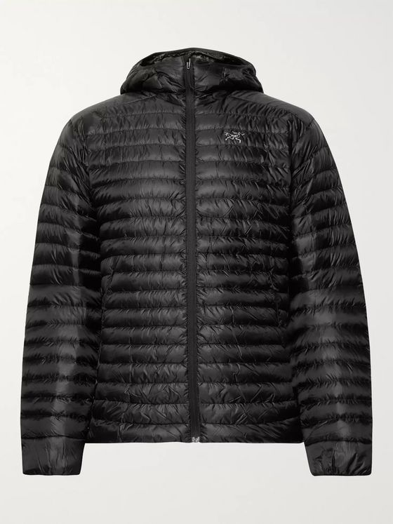 Arc'teryx Cerium SL Packable Quilted Shell Hooded Down Jacket