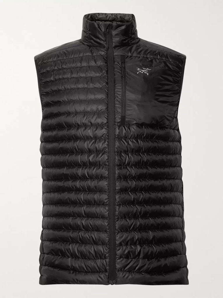 Arc'teryx Cerium SL Slim-Fit Quilted Arato Down Gilet