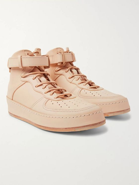 Hender Scheme MIP-01 Leather High-Top Sneakers