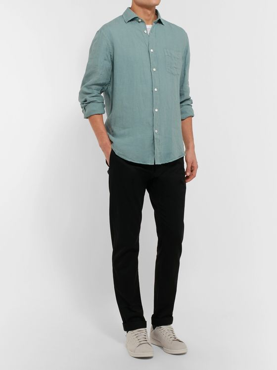 HARTFORD Paul Slub Linen Shirt