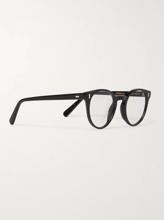 Cubitts Round-Frame Acetate Optical Glasses