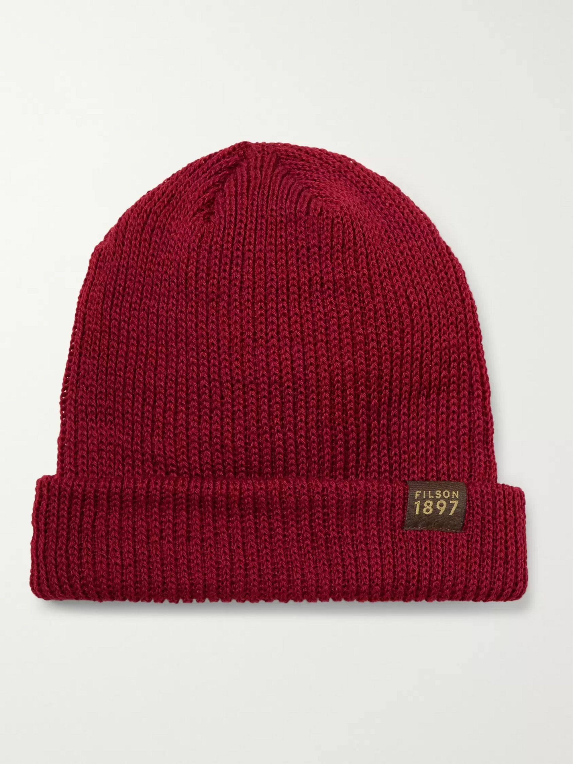 Filson Ribbed Virgin Wool Beanie