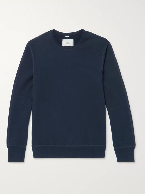 Reigning Champ Slim-Fit Loopback Cotton-Jersey Sweatshirt