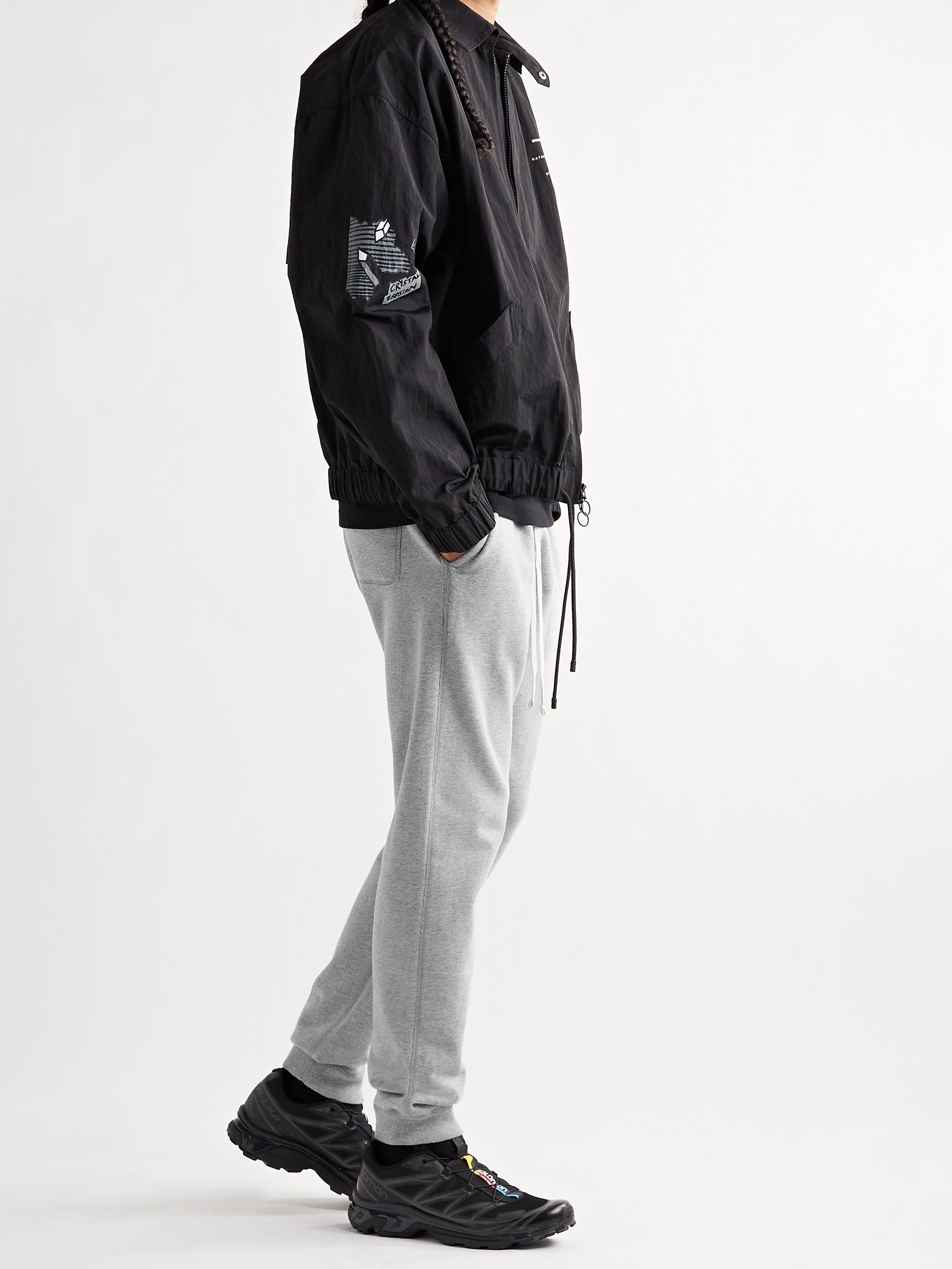 Reigning Champ Slim-Fit Loopback Cotton-Jersey Sweatpants